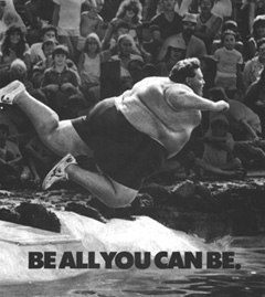 BE ALL YOU CAN BE.